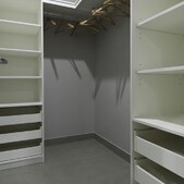 Brook walk in wardrobe